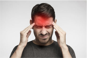 Man with Migraine