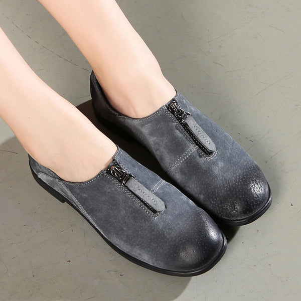 Women Classic Loafers Casual Slip On High Quality Shoes