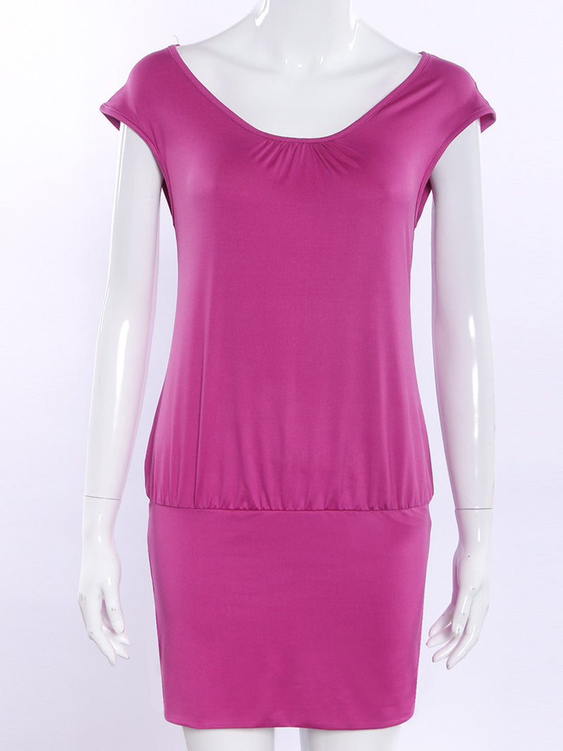 Casual Sheath Solid Dress