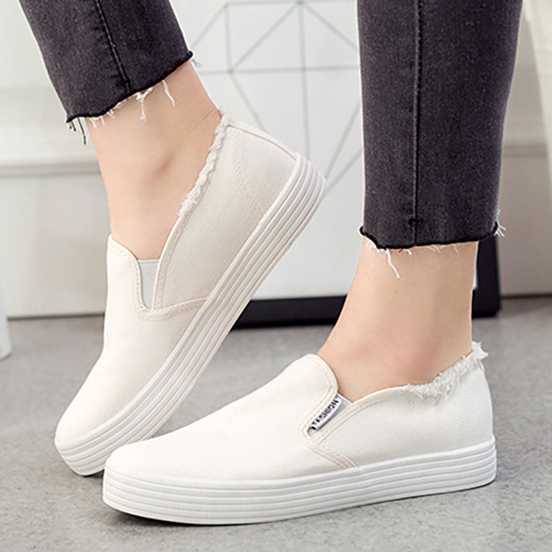Daily Flat Heel Canvas Loafer