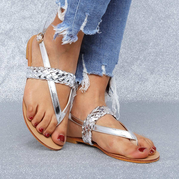 Fashion Flip-Flops Sandals Summer Buckle Sandals