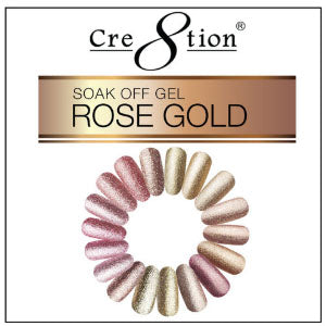 Cre8tion Rose Gold Gel