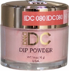 Dnd Dc Dip Powder 080 Lobster Bisque Nail Company Wholesale Supply Inc