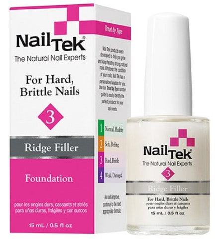 Nail Tek - For Hard, Brittle Nails - Ridge Filler