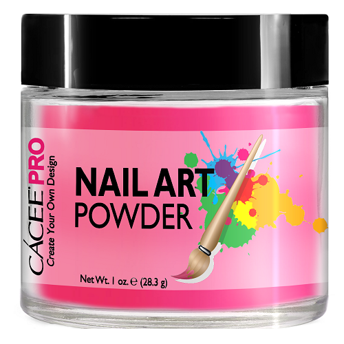 Cacee Nail Art Powder #40 Neon Pink