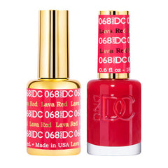 DC DUO 068 Lava Red