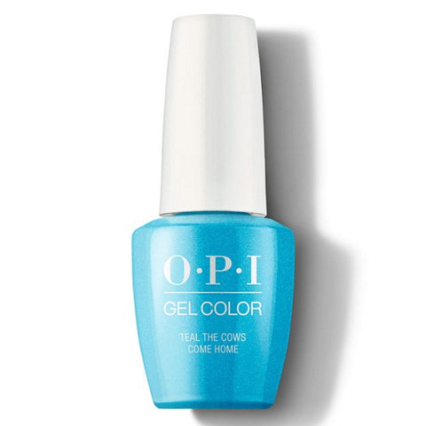 OPI GEL TEAL THE COWS COME HOME B54