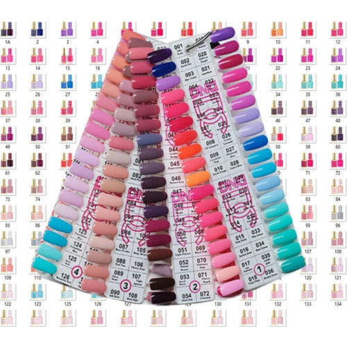DND DC Gel+Polish Full Collection 180 Colors