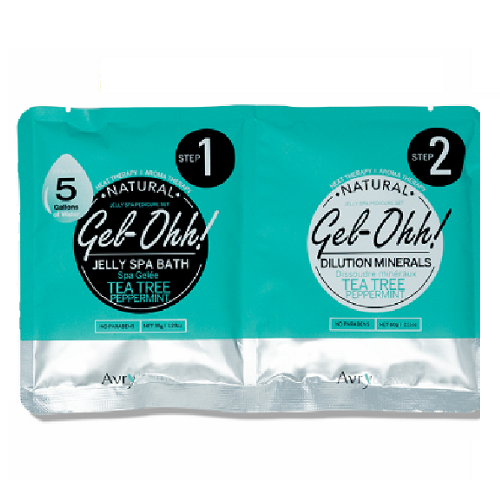 Gel-Ohh Jelly Spa Bath -Tea Tree & Peppermint