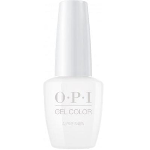 opi gel alpine snow L00
