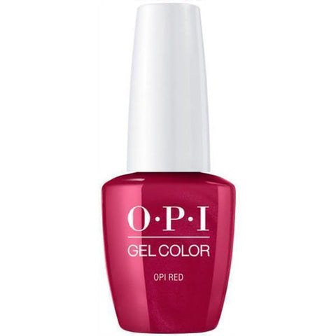 opi gel opi red L72