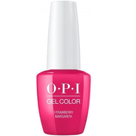 opi gel straberry margarita M23