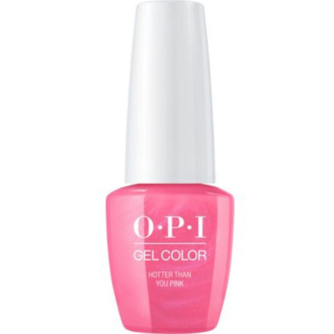 opi gel hotter than you pink N36
