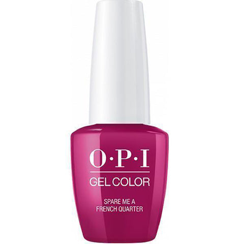 opi gel spare me a french quarter N55