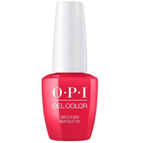 opi gel she's a bad muffaletta N56