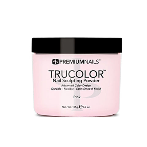 PREMIUM NAILS TRUCOLOR SCULPTING POWDER - PINK 3.7oz