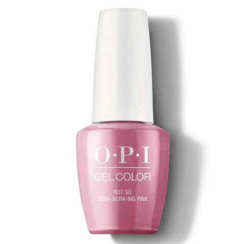 OPI GEL NOT SO BORA-BORA-ING PINK S54