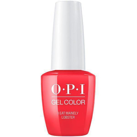 opi gel I EAT MAINLEY LOBSTER T30