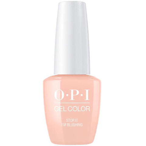 opi gel STOP I AM BLUSHING T74