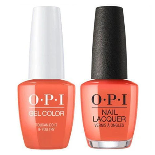 OPI Gel + Matching Lacquer Duo A67 Tocan Do It If You Try