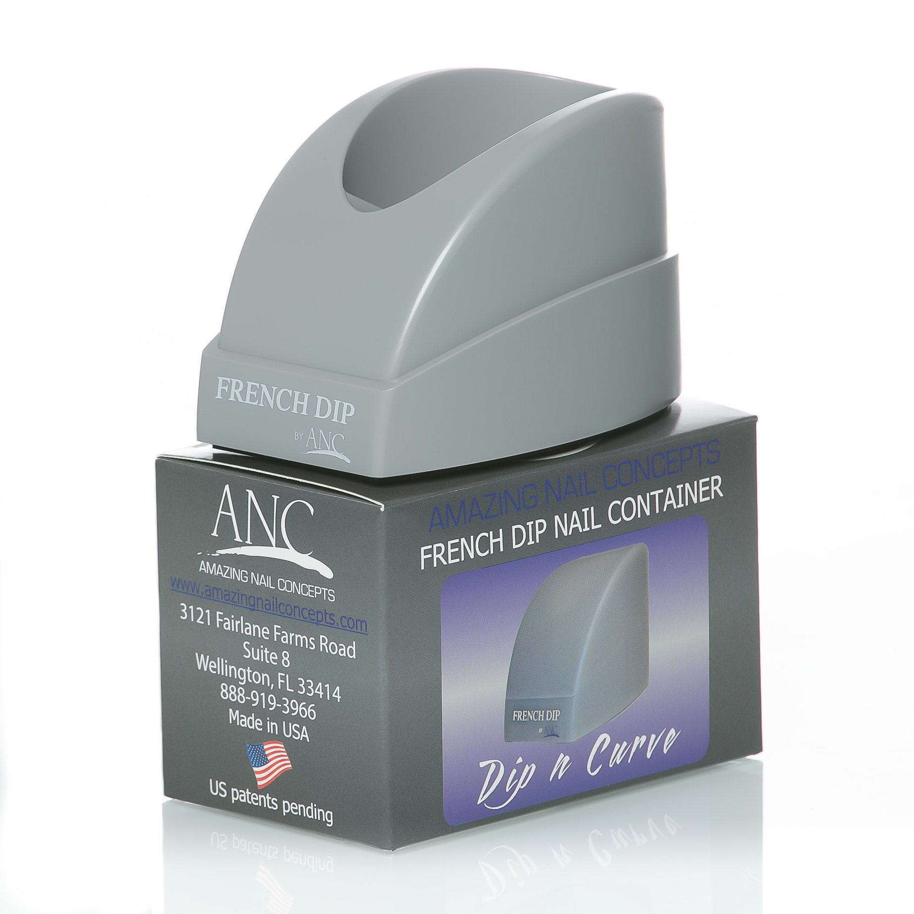 ANC French Dip Nail Container