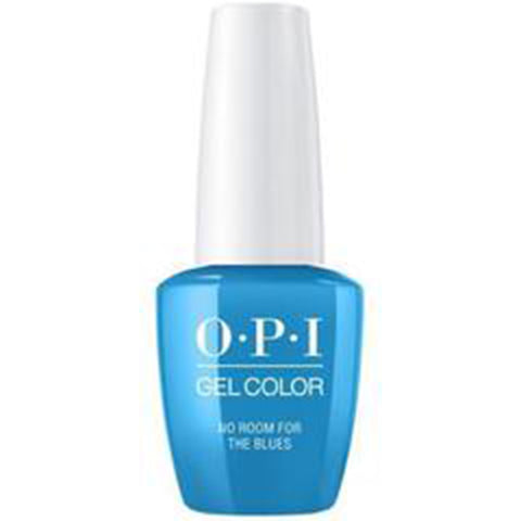 opi gel NO ROOM FOR THE BLUES b83