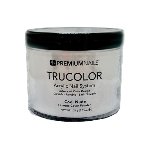 PREMIUM NAILS TRUCOLOR SCULPTING POWDER - COOL NUDE 3.7oz