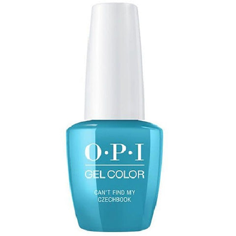 opi gel can't find my czechbook e75