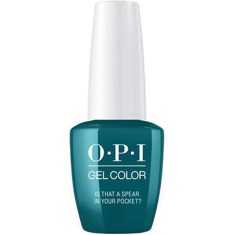 opi gel is that a spear in your pocket? f85