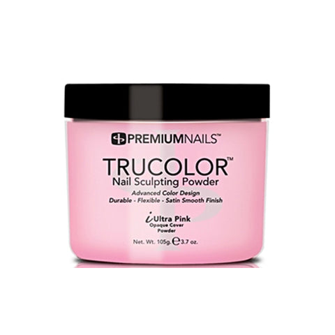 PREMIUMNAILS TRUCOLOR SCULPTING POWDER - iULTRA PINK 3.7oz