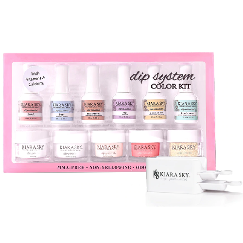Kiara Sky DIP Dipping Powder System Color Kit