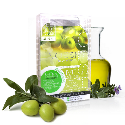Voesh 4 in 1 PediBox Olive Sensation