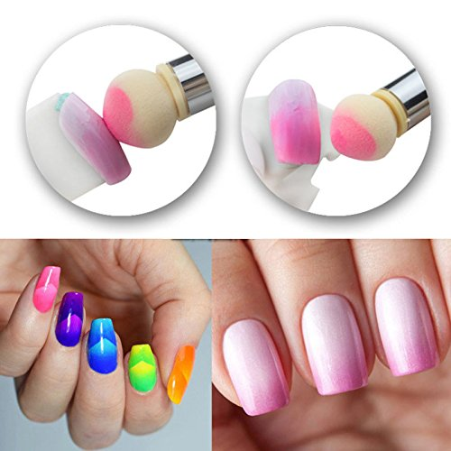 Nail Art Gradient Ombre Sponge Brush Nail Company Wholesale Supply