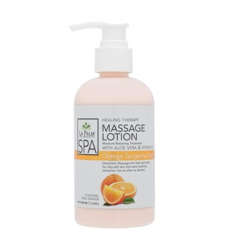 LaPalm Healing Therapy Massage Lotion - Orange Tangerine Zest
