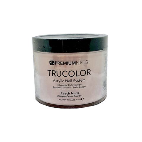 PREMIUM NAILS TRUCOLOR SCULPTING POWDER - PEACH NUDE 3.7oz