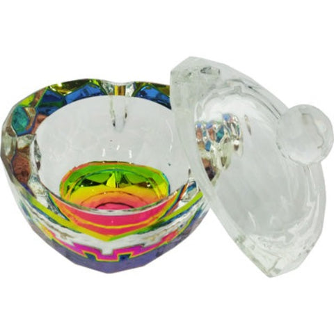 Berkeley Crystal Multi-color Heart Jar
