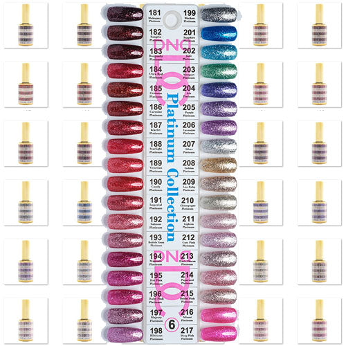 DND DC Swatch Collection 4 - 36 colors - Nail Company