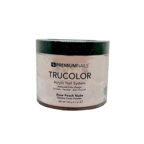 PREMIUM NAILS TRUCOLOR SCULPTING POWDER - ROSE PEACH NUDE 3.7oz