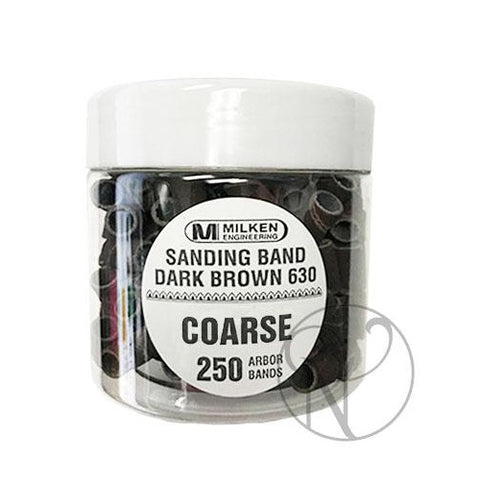 Milken Sanding Band - Dark Brown - Coarse 250 count