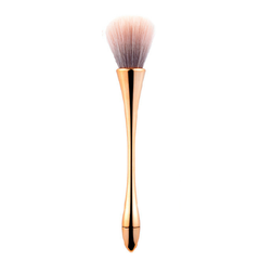 Dust Brush Long Slim Handle - Rose Gold Nude