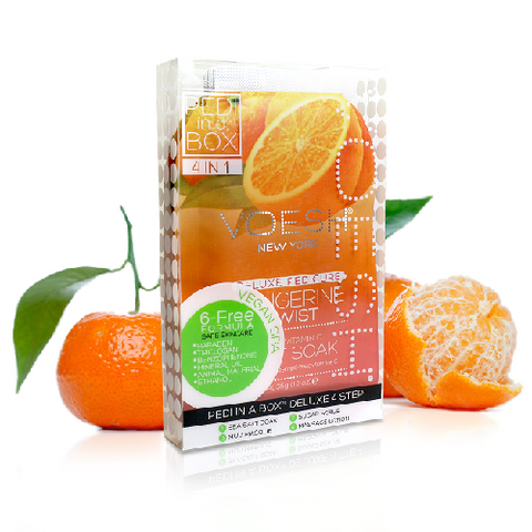 Voesh 4 in 1 PediBox Tangerine Twist