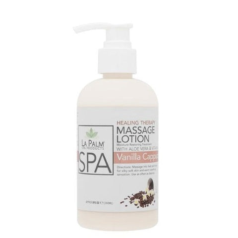 LaPalm Healing Therapy Massage Lotion - Vanilla Cappuccino