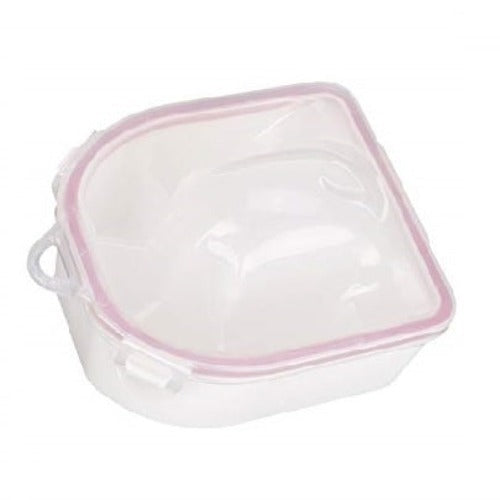 Acetone Resistant Deluxe Manicure Bowl Nail Soak Off Tray