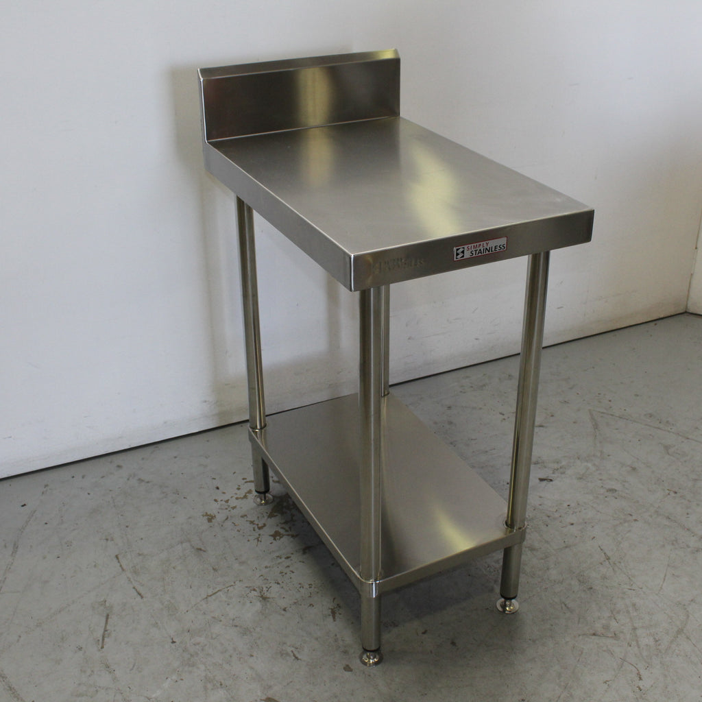 Simply Stainless S/S Bench & Splashback (2)