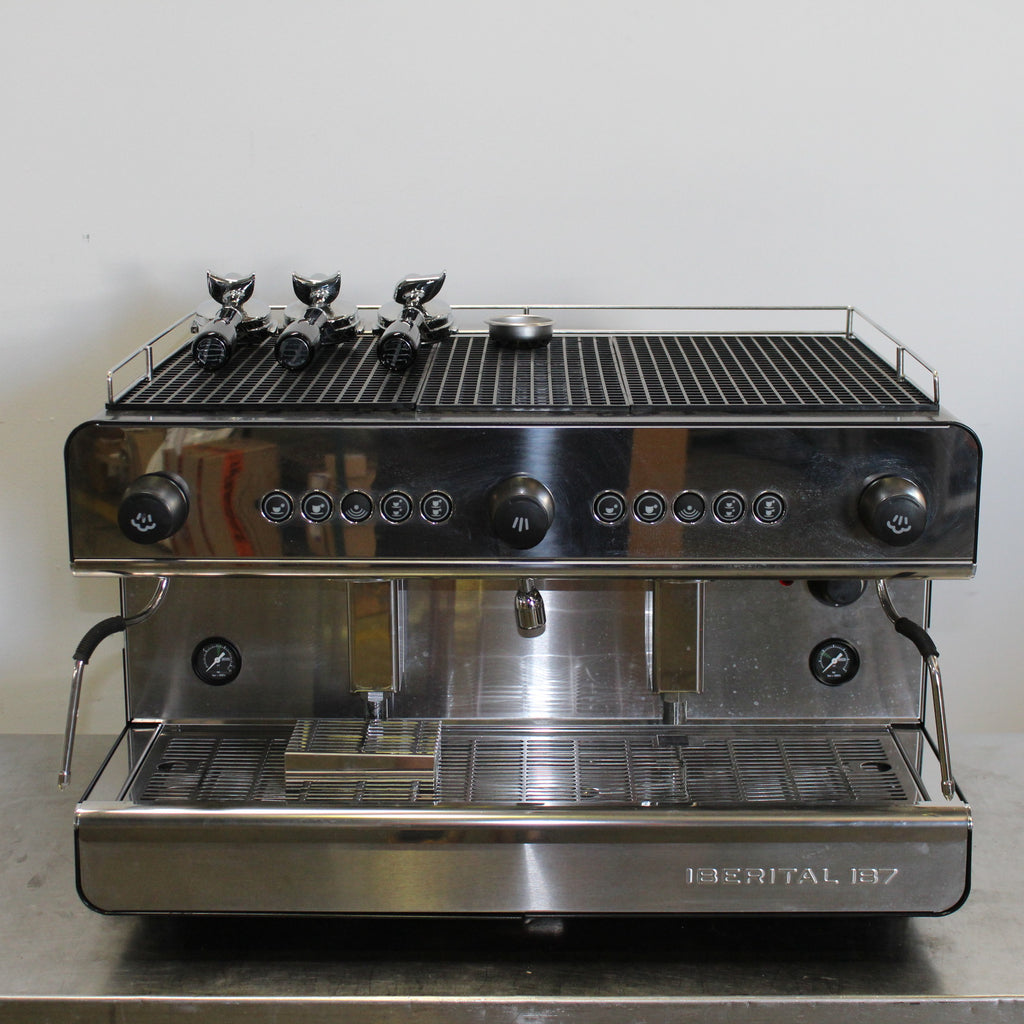 Iberital IB7 2 Group Coffee Machine (4)