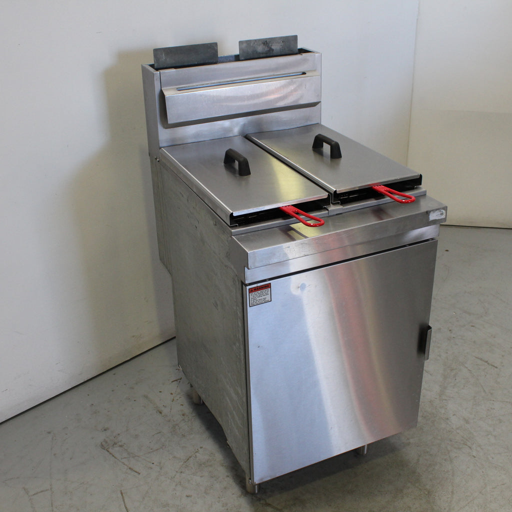 FED RC400TE Split Pan Fryer (2)