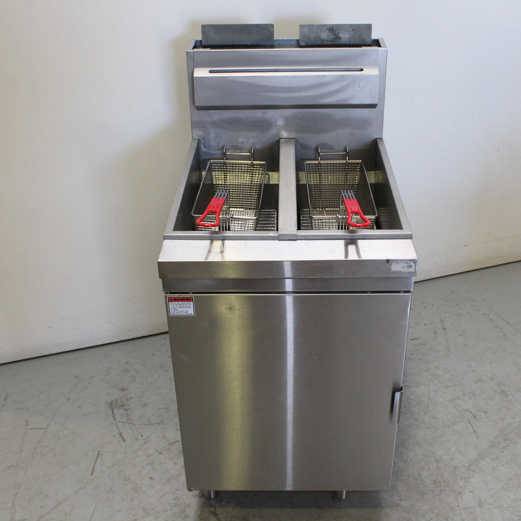 FED RC400TE Split Pan Fryer (3)