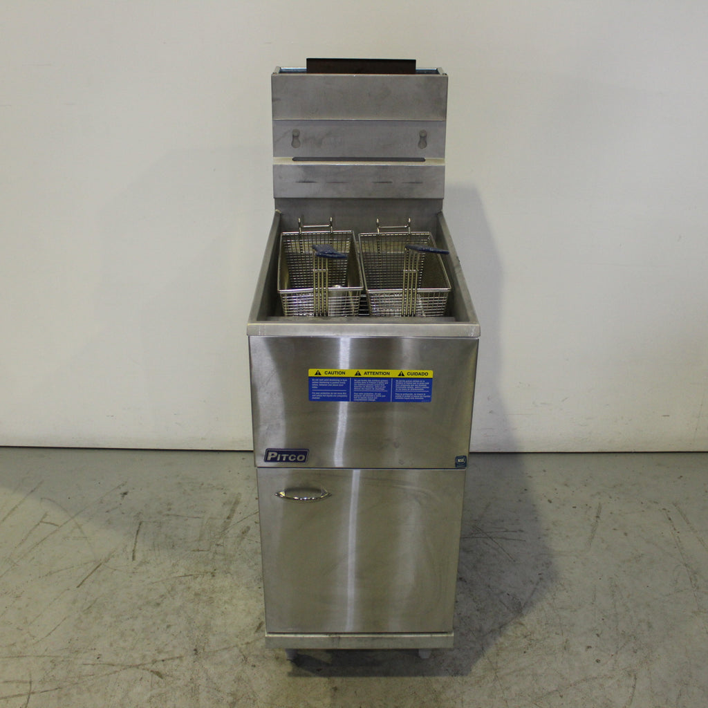 Pitco 35C Single Pan Fryer (3)