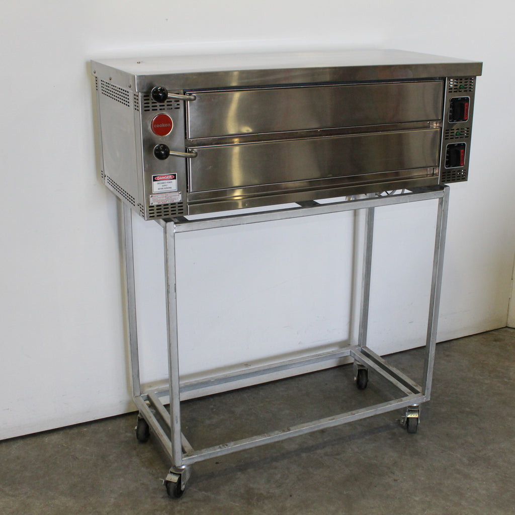 Cookon PO-1 2 Deck Pizza Oven (2)