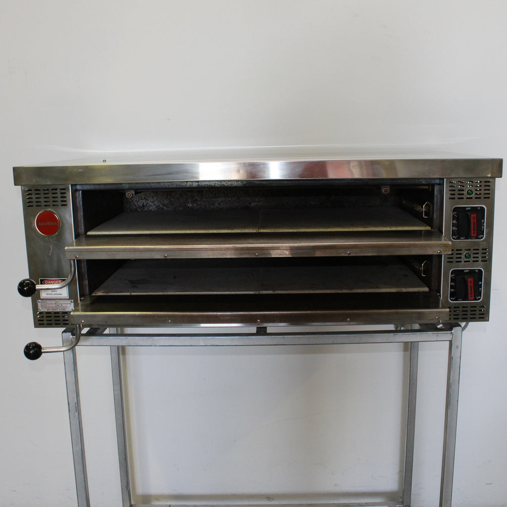 Cookon PO-1 2 Deck Pizza Oven (4)